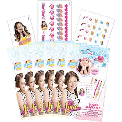 6in1 Tattoo Beauty-Set - Soy Luna