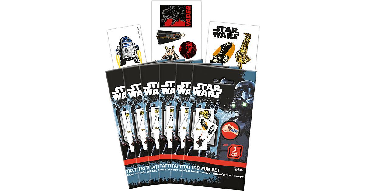 6in1 Tattoo Fun-Set - Star Wars
