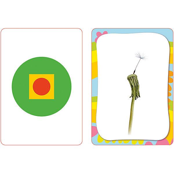 Развиваем логику, развивающие  карточки 3+