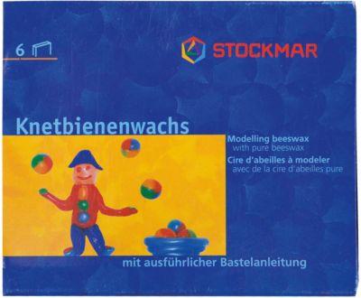 Воск для моделирования, 6 цветов, Stockmar