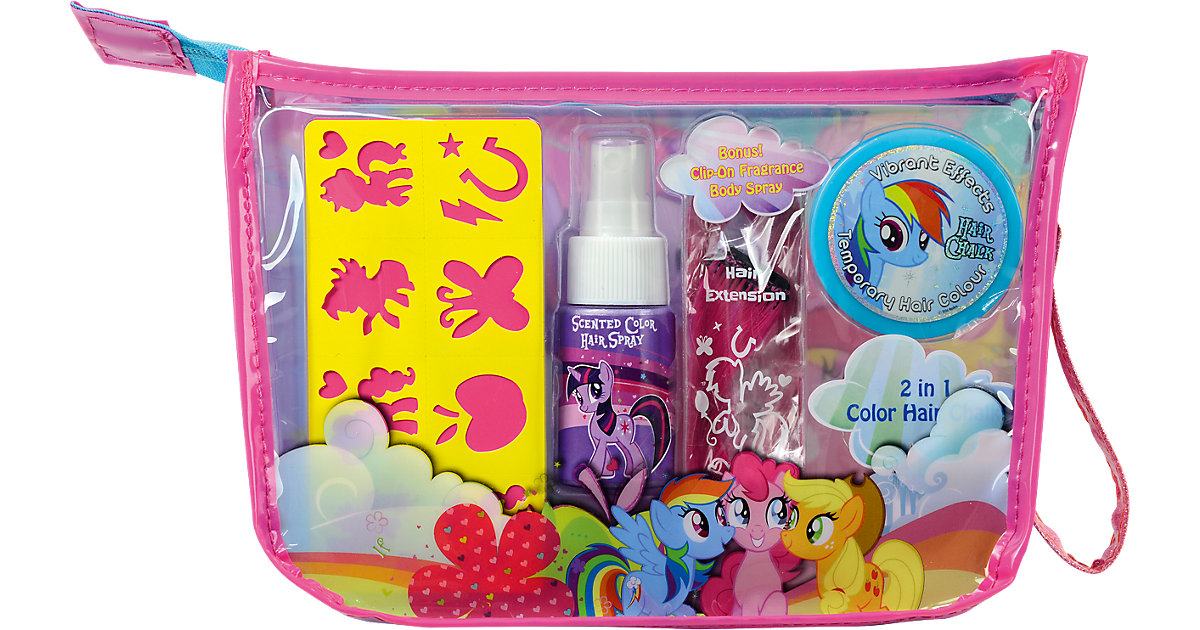 My Litte Pony Sparkling Regenbogen Haar Set
