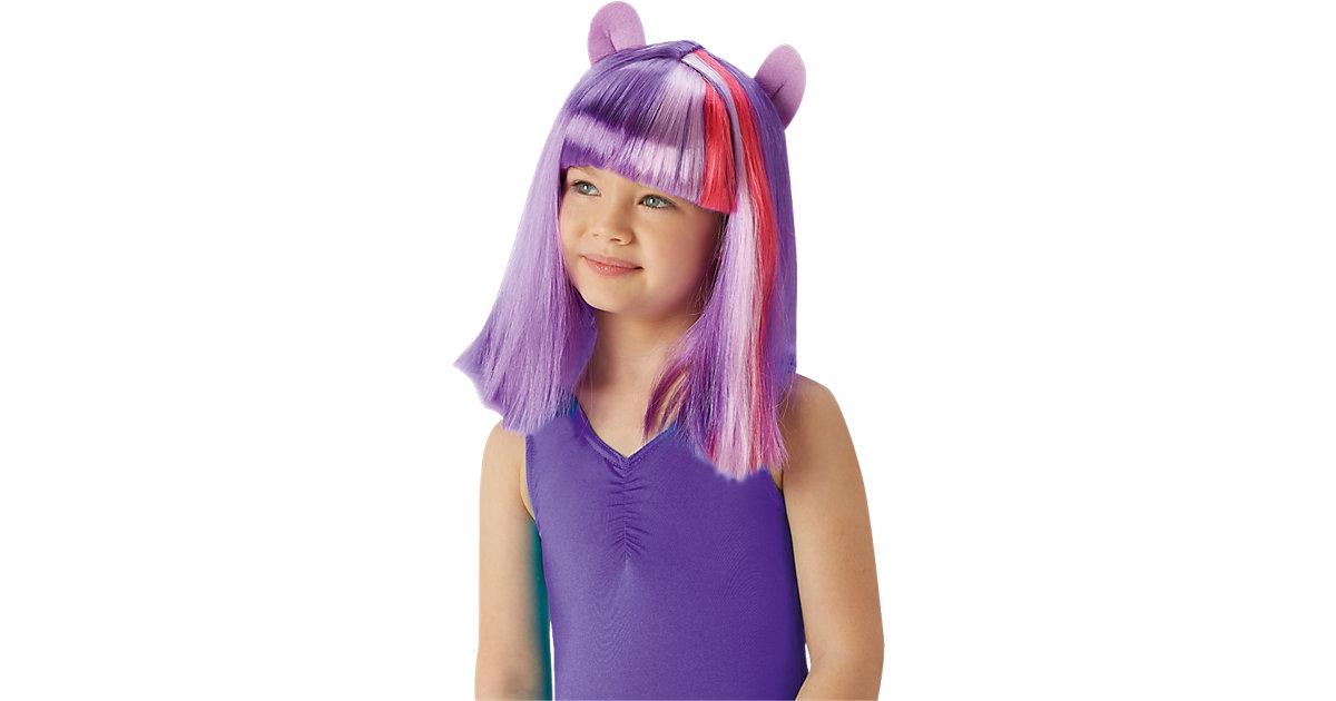 Perücke my little Pony Twilight Sparkle Mädchen Kinder