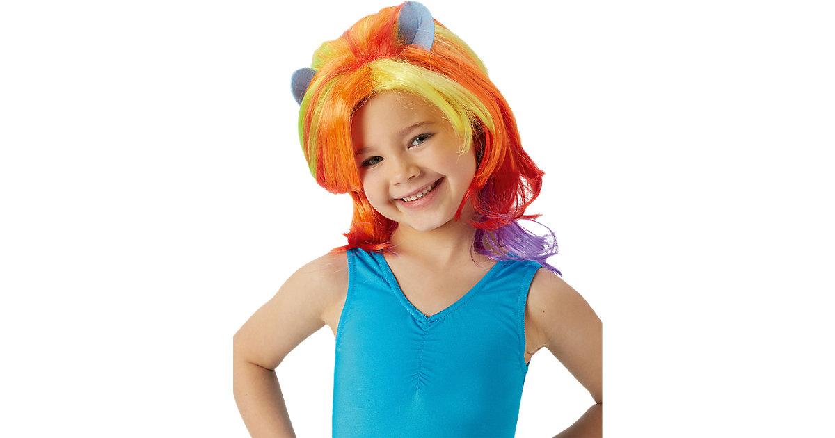 Perücke my little Pony Rainbow Dash Mädchen Kinder