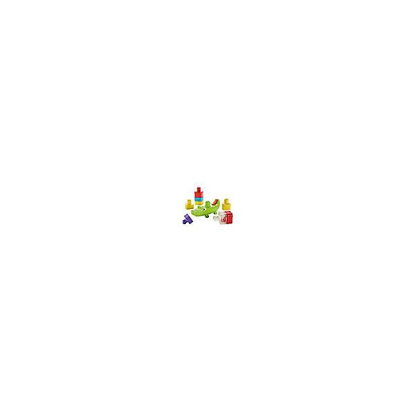 Конструктор-пирамидка Fisher-Price «Веселый крокодил»