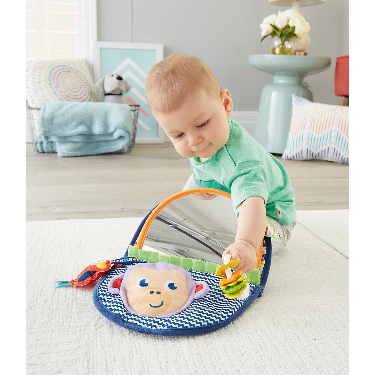 Spielzeug Für Neugeborene : fisher price ffchen spiegel baby spielzeug f r neugeborene motorik spielzeug fisher price ~ Watch28wear.com Haus und Dekorationen