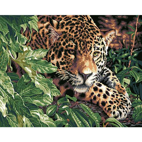 """Роспись по номерам """"Леопард"""" 40*50 см от TUKZAR"""