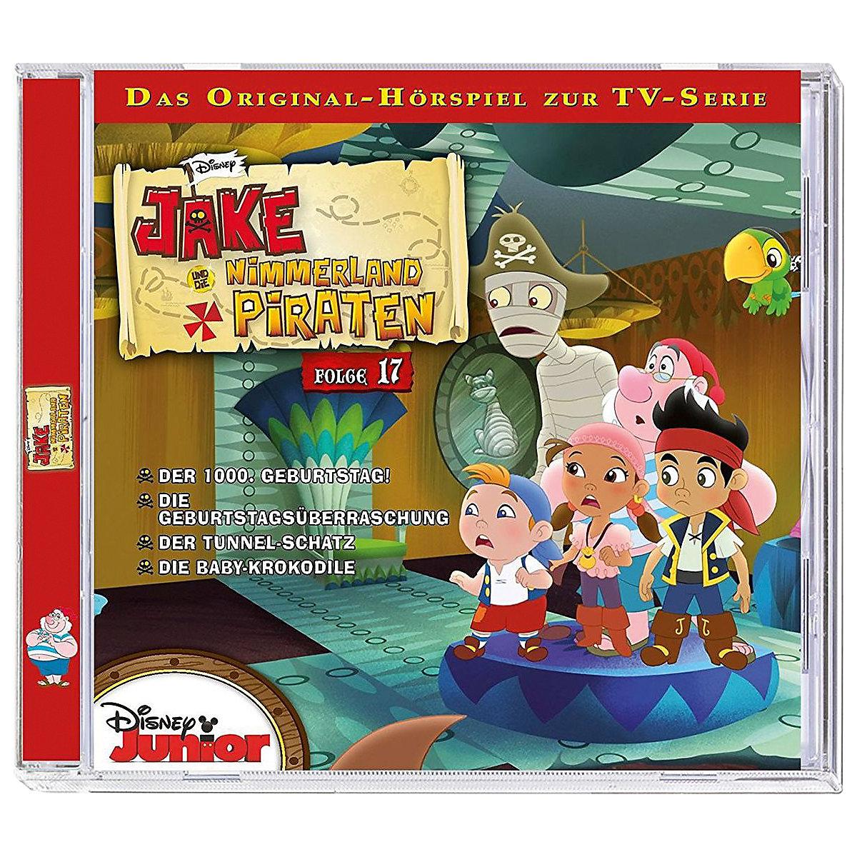 cd disney jake und die nimmerland piraten 17 disney jake