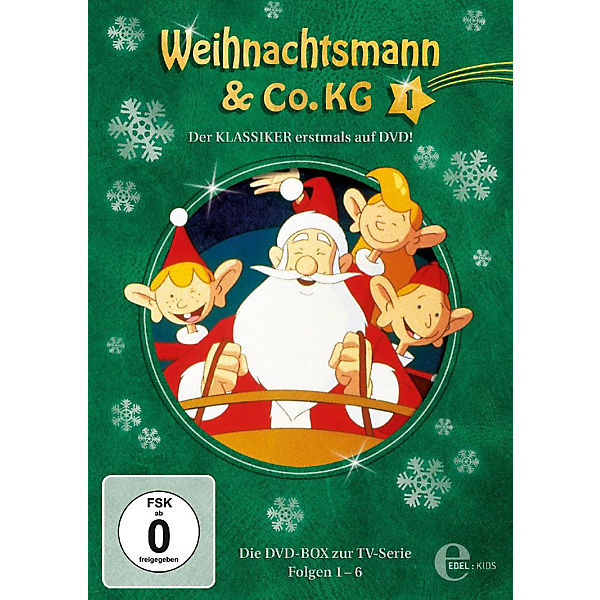 dvd weihnachtsmann co kg dvd box 1 folgen 1 6 2 discs. Black Bedroom Furniture Sets. Home Design Ideas