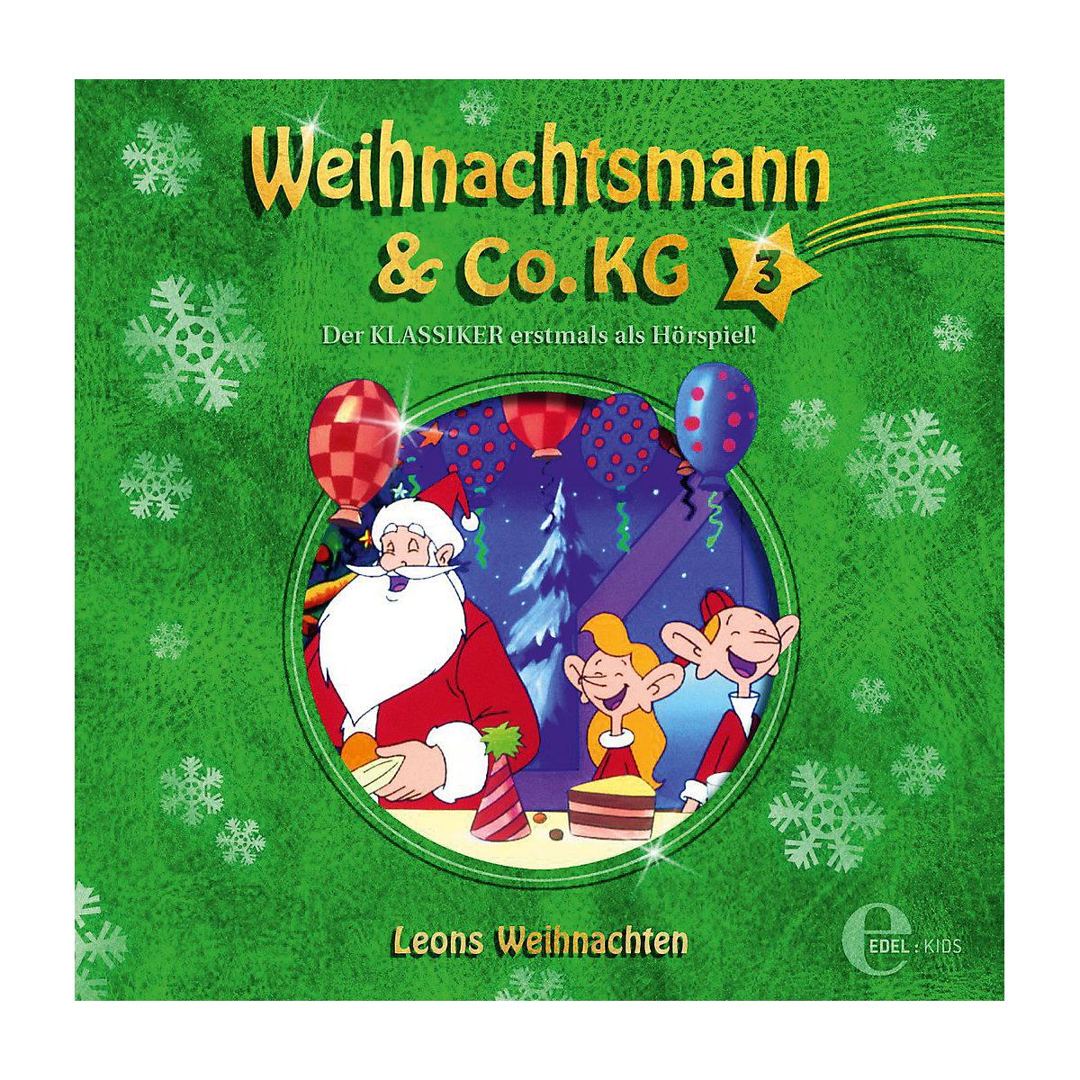 cd weihnachtsmann co kg 3 leons weihnachten edel mytoys. Black Bedroom Furniture Sets. Home Design Ideas