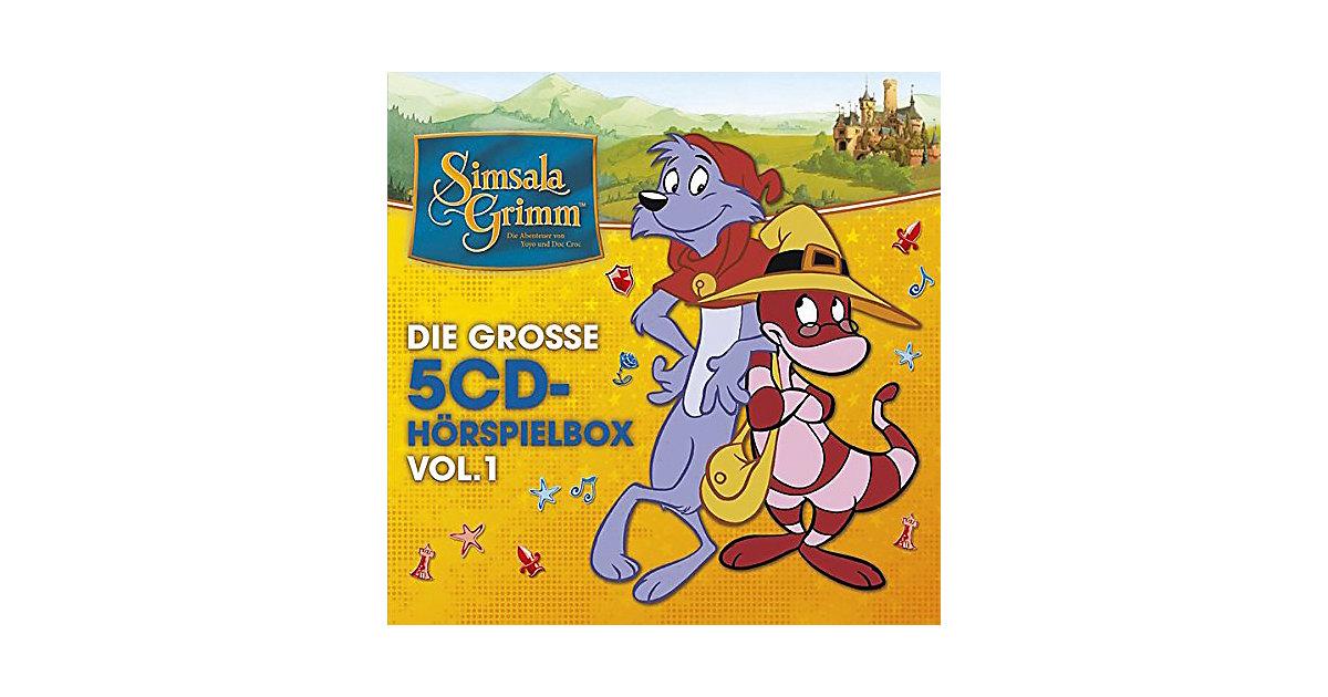 Universal · CD SimsalaGrimm: Die große 5-CD Hörspielbox Vol. 1