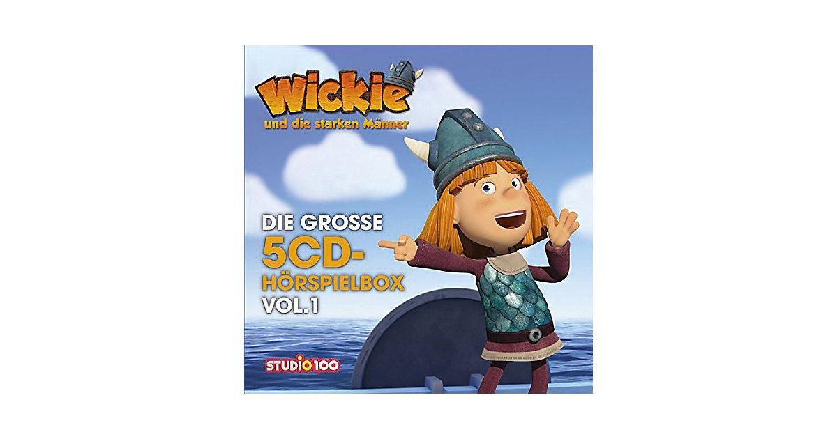 Universal · CD Wickie: Die große 5-CD Hörspielbox Vol. 1