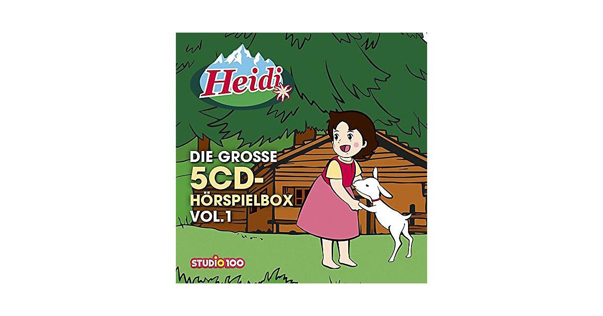 Universal · CD Heidi: Die große 5CD-Hörspielbox Vol.1