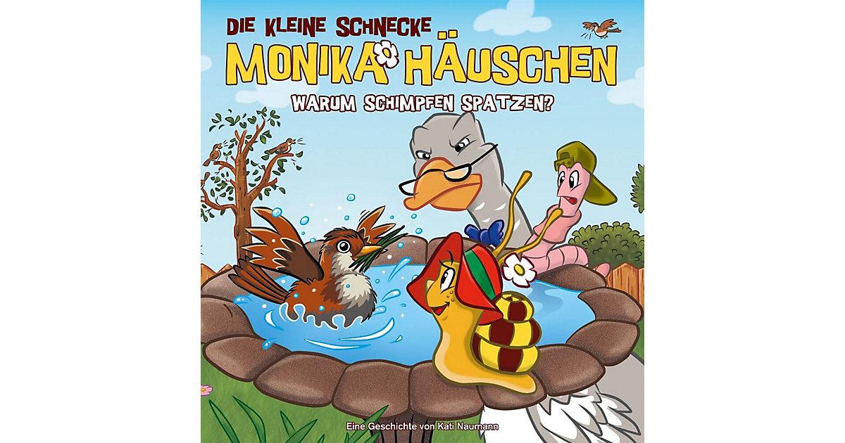 CD Die kleine Schnecke Monika Häuschen 45 - Warum schimpfen Spatzen? Hörbuch