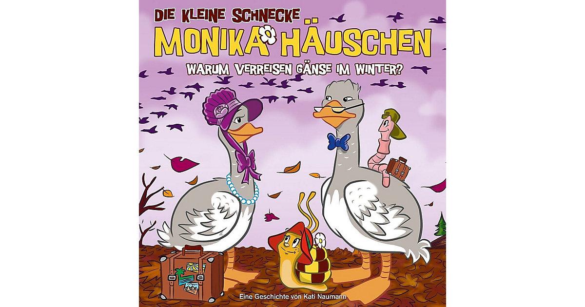 CD Die kleine Schnecke Monika Häuschen 46 - Warum verreisen Gänse im Winter? Hörbuch