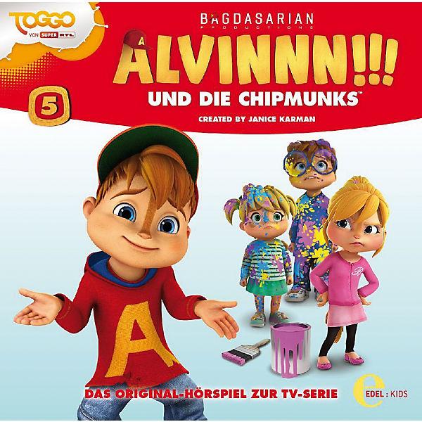Cd Alvinnn Und Die Chipmunks 5 Hörspiel Zur Tv Serie Edel Mytoys