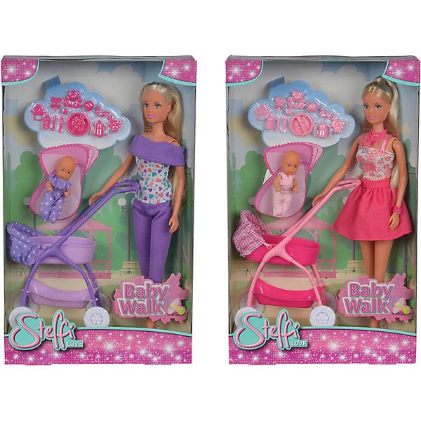 """Кукла """"Штеффи с ребёнком"""", 29 см, Simba"""