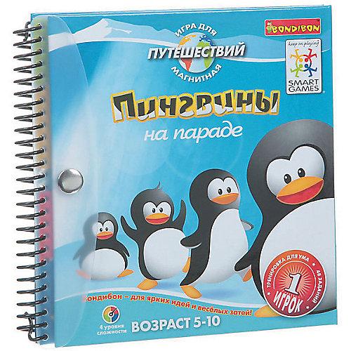 """Магнитная игра для путешествий """"Пингвины на параде"""", Bondibon от Bondibon"""