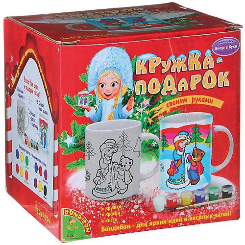 "Набор для росписи кружки ""Снегурочка"", Bondibon от Bondibon"