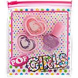 Набор детской косметики Pop Girls для губ и ногтей