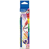 Цветные треугольные карандаши, 6 шт.