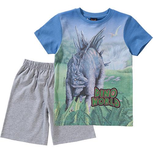 Dino World Schlafanzug Gr. 104 Jungen Kleinkinder | 04022158352424
