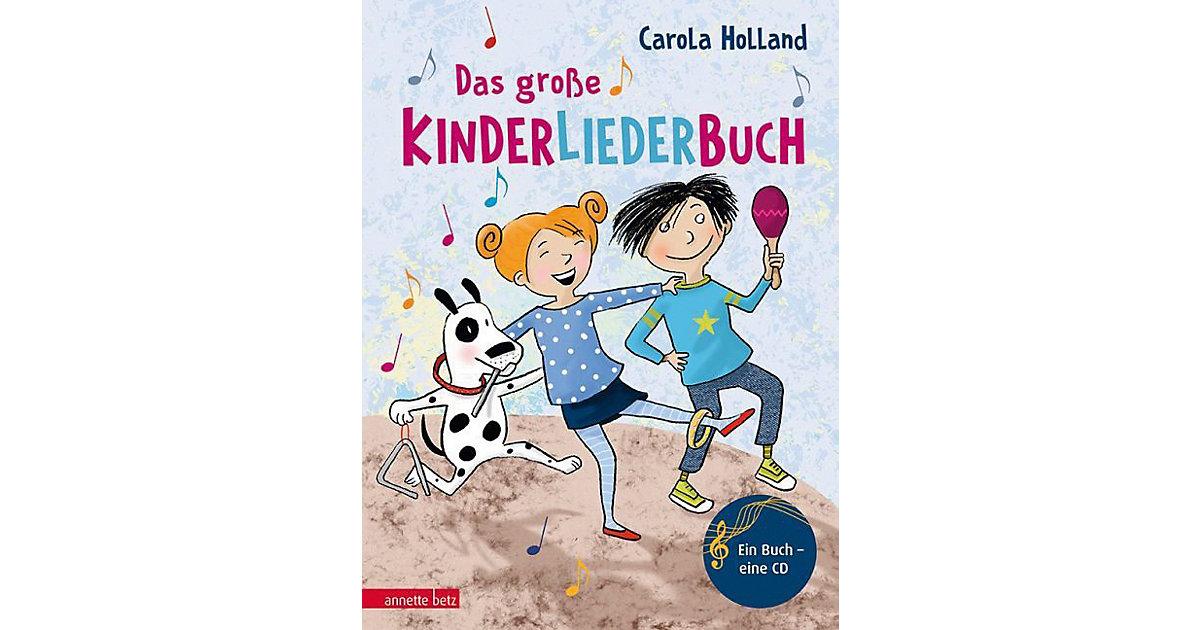 Das große Kinderliederbuch, mit 1 Audio-CD