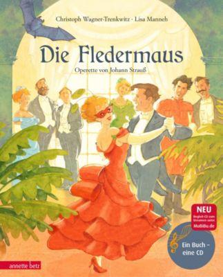 Buch - Die Fledermaus, mit 1 Audio-CD