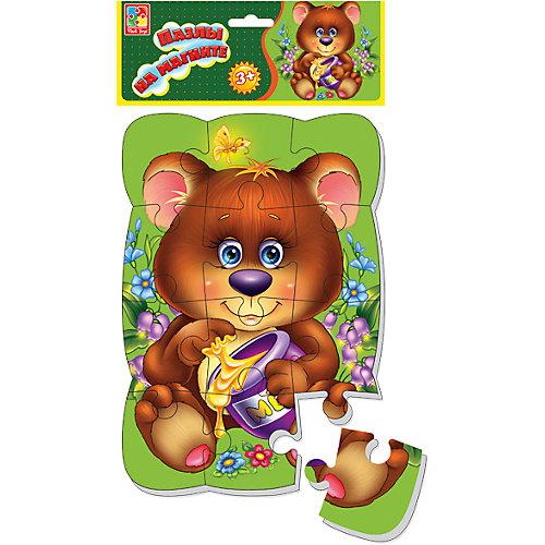 """Пазлы на магните """"Медвежонок"""", Vladi Toys от Vladi Toys"""