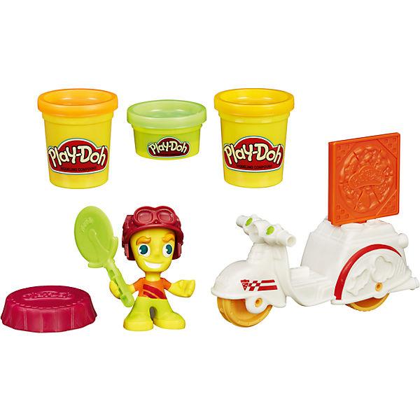 """Игровой набор Play-Doh Town """"Транспортные средства"""" Доставка пиццы"""