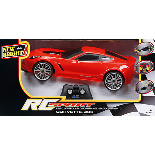 Машина на р/у Corvette Z06, красная от New Bright