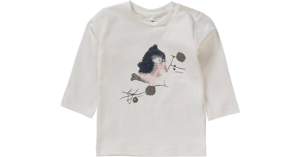 Langarmshirt NITDEA , Organic Cotton Gr. 80 Mädchen Baby