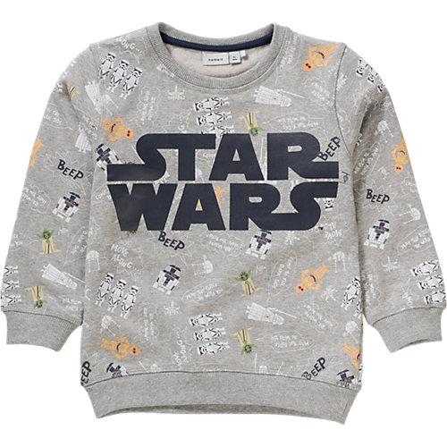 name it Star Wars Sweatshirt Gr. 98 Jungen Kleinkinder Sale Angebote Sargstedt