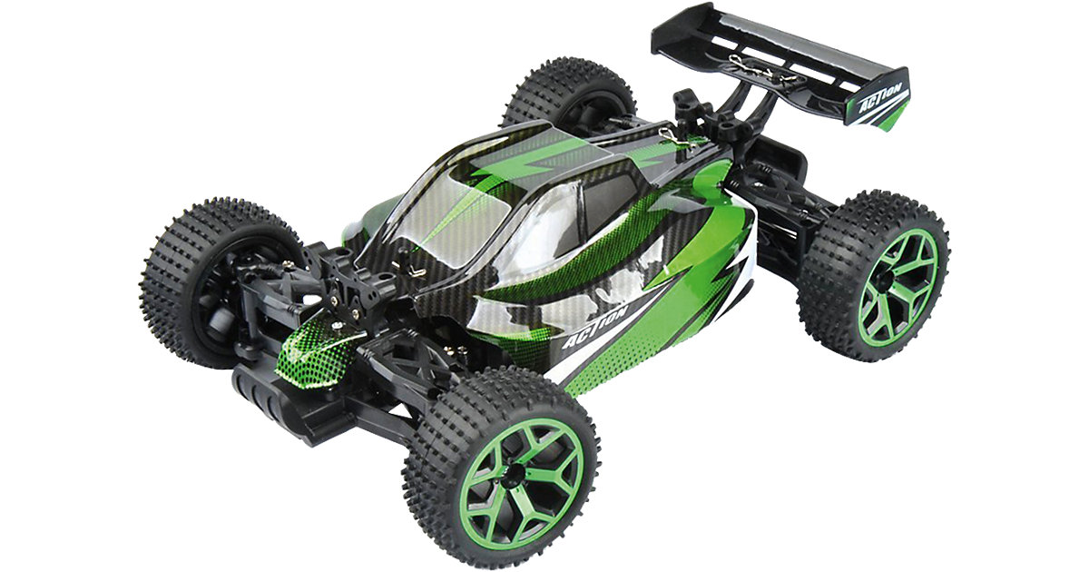 """RC Buggy Storm D5 """"green""""  1:18 4WD RTR"""