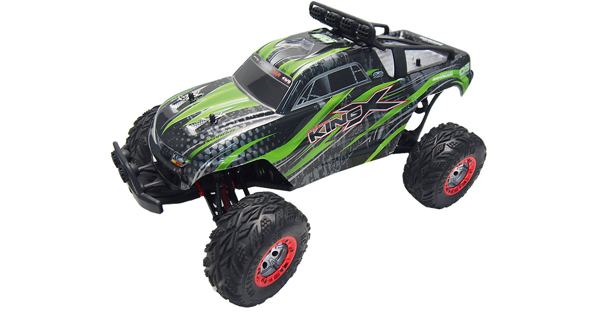 Amewi · RC Modellbau X-King 4WD 1:12 Monstertruck - GRÜN