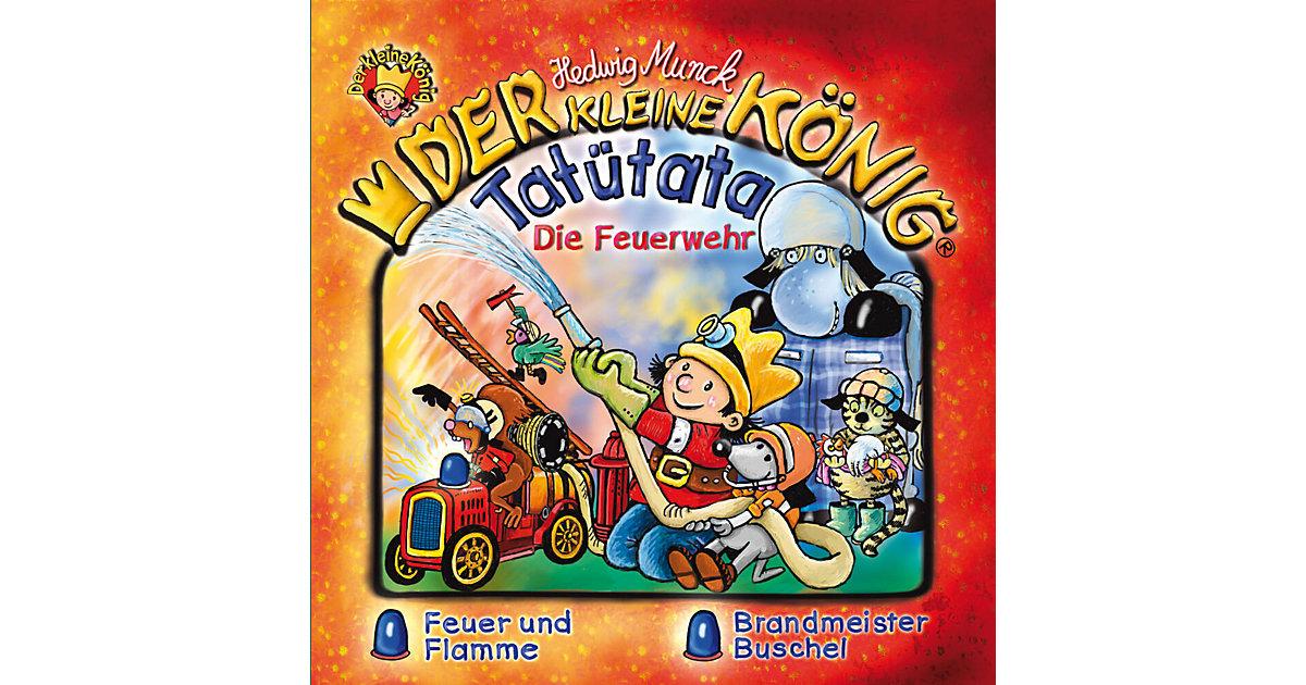 CD Der Kleine König 36: Tatütata Die Feuerwehr Hörbuch
