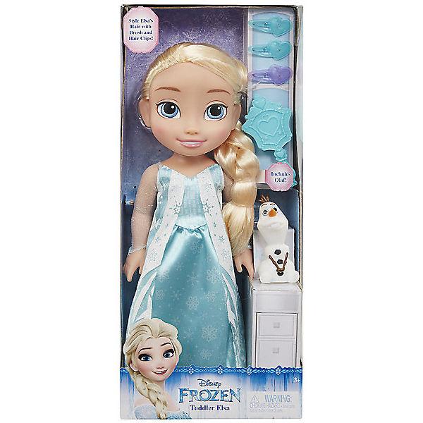 """Кукла-малышка """"Холодное сердце"""" с аксессуарами, Эльза, 35 см."""