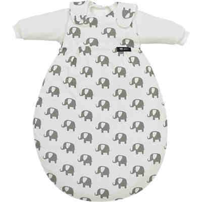 low priced 59cc8 05823 Schlafsack Baby Mäxchen, Special Edition Elephants white, Alvi