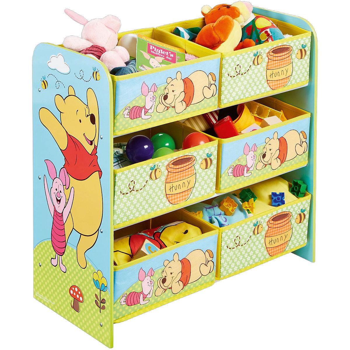 Winnie Pooh Regal : 6 boxen regal winnie the pooh disney winnie puuh mytoys ~ A.2002-acura-tl-radio.info Haus und Dekorationen