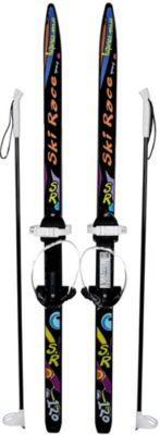 """Лыжи подростковые """"Ski Race"""" с палками 120/95, Цикл"""
