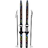 """Лыжи с палками подростковые Олимпик """"Ski Race"""" 120/100 см"""