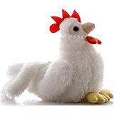 """Игрушка мягкая """"Петушок"""", белый, 15 см, AURORA"""