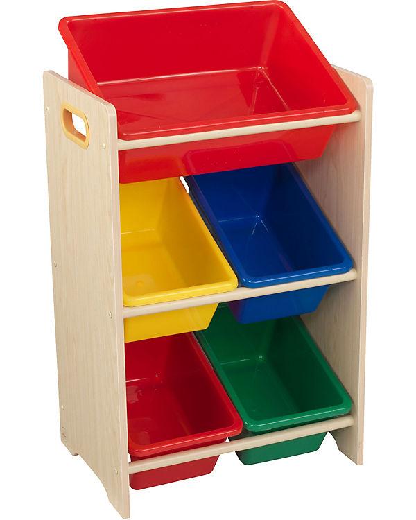 5 Boxen Regal Mehrfarbig Gr Xx Kidkraft Mytoys