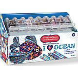 """""""Я люблю океан"""" Набор для творчества с клейкими ленточками"""