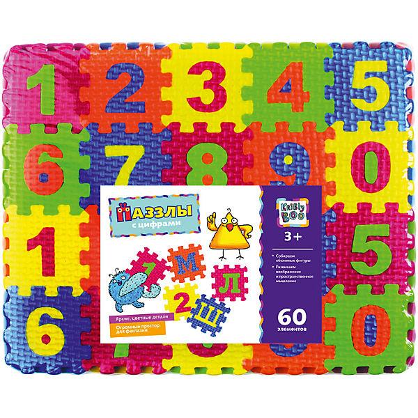 Пазлы с цифрами, 60 элементов
