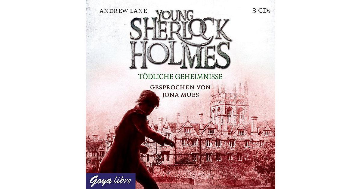 Young Sherlock Holmes: Tödliche Geheimnisse, 3 Audio-CDs Hörbuch