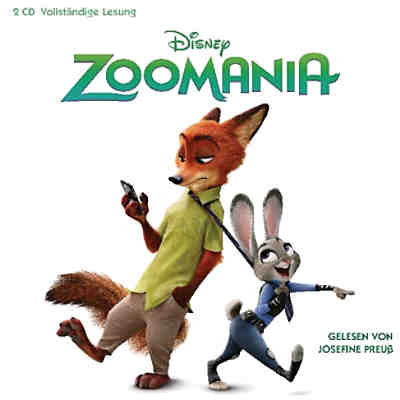 Zoomania, 2 Audio-CDs
