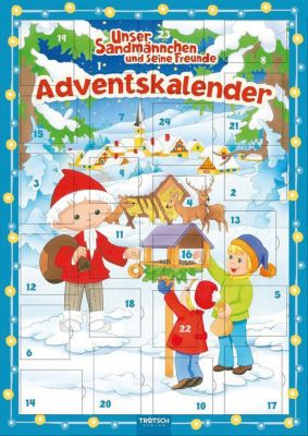 Gut Unser Sandmännchen Magnet Adventskalender