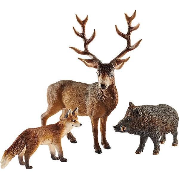 Schleich 41458 Europas, Wild Life: Waldbewohner Europas, 41458 Schleich cb0002