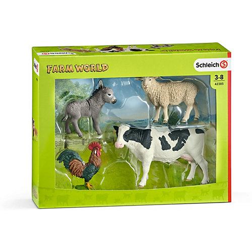 """Коллекционный набор фигурок Schleich """"Животные с фермы"""" Животные фермы от Schleich"""