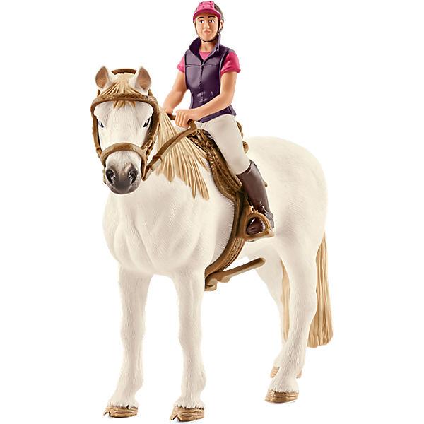 Schleich 42359 Horse Club Freizeitreiterin Mit Pferd Schleich Mytoys